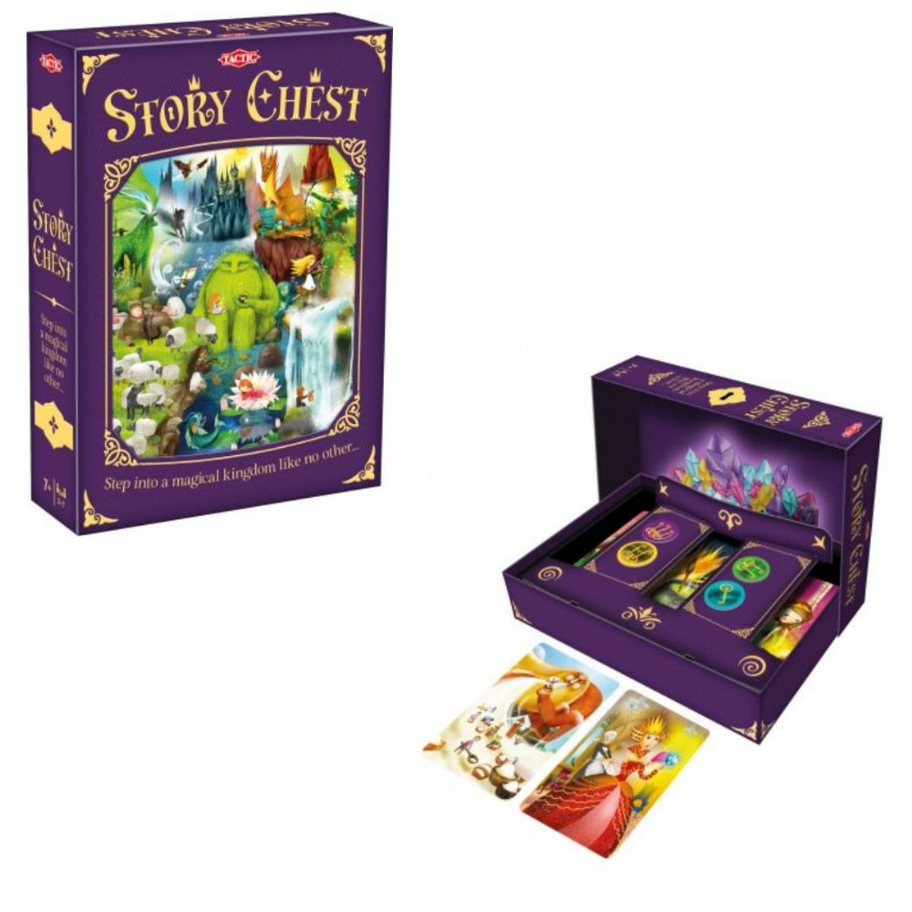 Story Chest Game - Family - Kids Game By Tactic Games